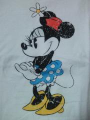 ディズニー ミニーマウス デザイン UNIQLO ユニクロ Tシャツ ホワイト レッド Mサイズ