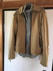 diesel/ディーゼル スウェット生地のジャケット!