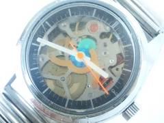 9381/Q&Q高額なフルスケルトン仕様機械式メンズ腕時計滅茶苦茶カッコイイ