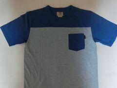 USA購入 アメカジ バンズ【VANS】ポケット付TシャツUS BOY'S L