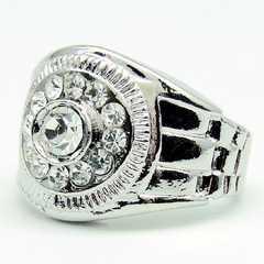 AAAダイヤモンドczリング高品質18KGF AVALANCHE