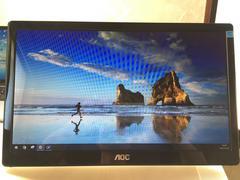 超値下げAOC 15.6インチ USB接続モニタ ( 1366 x 768 ) E1659FWU
