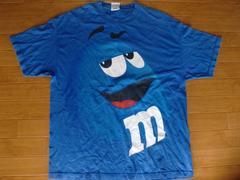 M&M`s チョコレート キャラクター Tシャツ USA−XL
