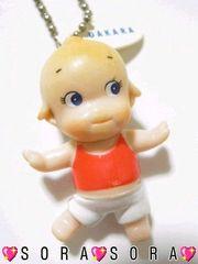 【ローズオニールキューピーダイエットヨガ】DAKARAキーホルダー