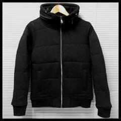 ボリュームネック カット中綿ダウンtypeJKT/ブラック/M