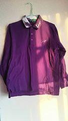 KENZO★紫★長袖ポロシャツ。カジュアル☆size3