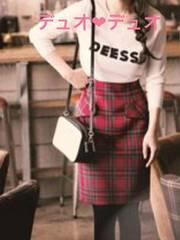 Apuweiser-riche【雑誌掲載】 タータンチェックタイトスカート