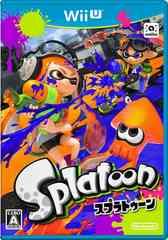 即決★中古 Wii U Splatoon スプラトゥーン 送料無料