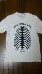 アナトミ骨Tシャツ メンズ1