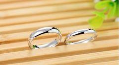 1円〜送料無料※カップル 2点 シンプル リング 6号〜23号 指輪