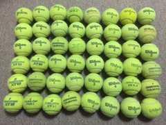 硬式テニスボール◇中古◇48個