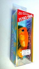 新品  エバーグリーン  ファンキー フロッグ   オレンジコーチドッグ