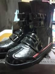 送料込☆寅壱長マジック安全靴【デジ柄黒】27cm