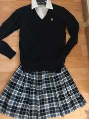 冠婚葬祭 子供 160 セータースカート 美品
