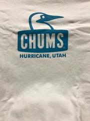 CHUMS Tシャツ チャムス 白 M