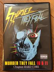 MURDER THEY FALL 10 & 11 Chapter HARD CORE  DVD