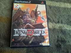 PS2☆リングオブレッド☆コナミ。美品♪