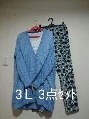 ★新品タグ3L★着回し3点セット