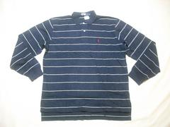 19 男 POLO RALPH LAUREN ラルフローレン 長袖ポロシャツ XL
