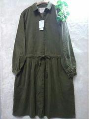 *ICHI*  コーデュロイ  ワンピース  新品8900円+税