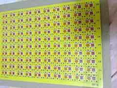 数字合わせ 用紙1枚 パーティーなどに 紙製 未使用