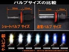 決算セール☆ HID H8 H11 兼用 ショートバルブ 4300K 2個セ