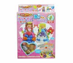 プリンセスぴったんコーン知育玩具 色々な物を組み立てよう!