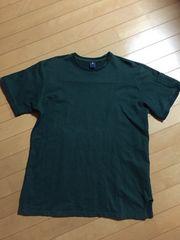 UNDOCKグリーン半袖Tシャツ