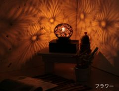 待望入荷☆ココナツランプ/幻想的癒しの灯/アジアン雑貨/間接照明/インテリア