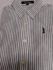 新品 120サイズ ストライプシャツ 定形外205