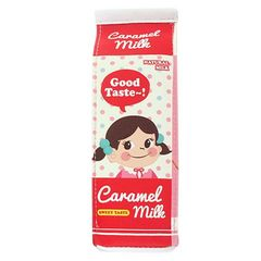 立つ牛乳パックペンケース ミルクポーチ レッド 1/AD6