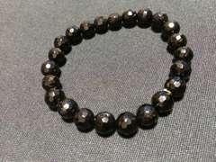 ブラックオニキス 数珠 新品ブレスレット じゅず プレゼントにも