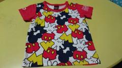 ベビードール☆ミッキーコラボTシャツ☆110�a