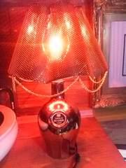 NIKKA☆ニッカ☆ボトル型スタンド☆ランプ☆照明ライト☆レトロ