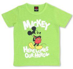 新品BABYDOLL☆ディズニー ミッキー Tシャツ 140 グリーン ベビードール