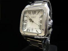 保証書付 自動巻 腕時計カレンダー付シルバー/カルティエ好きに