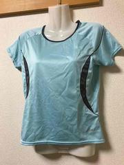 ★asics  水色Tシャツ  M★