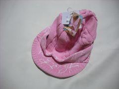 wb93 ROXY ロキシー つば付き ニット帽 ピンク