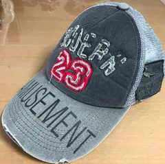 MODERN AMUSEMENT ダメージ キャップ 帽子 58cm 切手払い可能