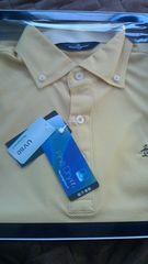 新品Munsingwear!!黄白ポロシャツゴルフウエア マンシングウエア