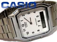 美品 CASIO ヴィンテージ【アナログ×デジタル】メンズ腕時計