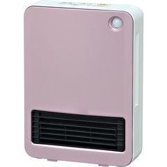セラミックファンヒーター センサー付き 1200W ピンク