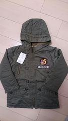 新品eaB ジャケット120cm モスグリーン