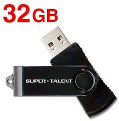 人気急上昇!SUPER TALENT USB2.0フラッシュメモリ 32GB
