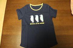 Tシャツ SIZE 130 紺色 ペンギン