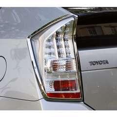 トヨタ クロームメッキテールライトリング テールランプリム プリウス30系 ZVW30