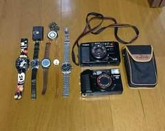 ジャンク品OMEGAその他時計カメラ