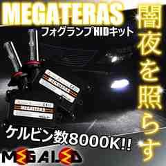 mLED】レクサスGS350前期後期/フォグランプHIDキット/HB4/8000K