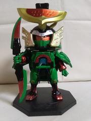 仮面ライダーMEGAワールドコレクタブルフィギュア 鎧武スカイアームズヨロイモード