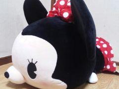 ディズニー/ミニーマウスマシュマロ寝そべりぬいぐるみ2(新触感)50�p